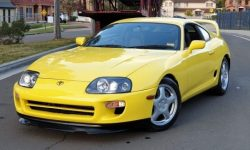 A very rare modification Toyota Supra for sale