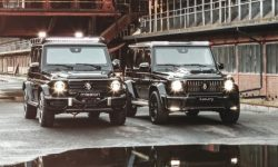 Presented armored BRABUS G-wagon
