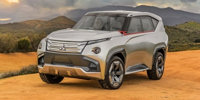 The new Mitsubishi Pajero will show in 2021