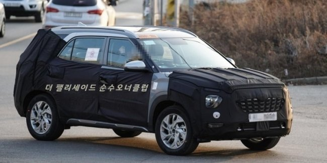 Creta Long? Hyundai is testing a stretched version of the crossover