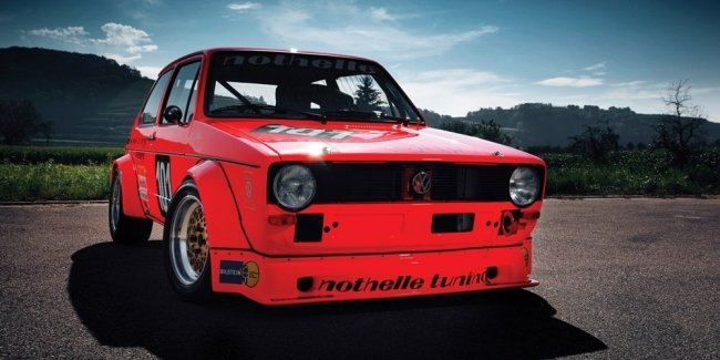 The engine in the first Golf racing for sale