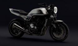 Between past and future: Honda unveiled a new concept motorcycle CB-F