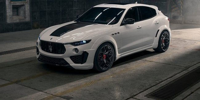 """Fattening him up for quarantine"": the German tuner has presented ""bloated"" Maserati Levante"