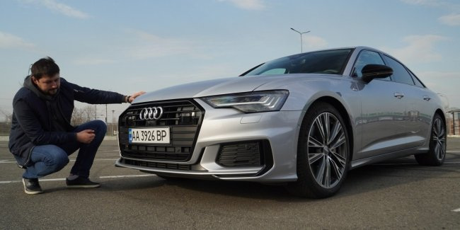 The New Audi A6. One that you don't need