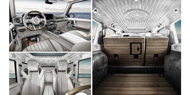 """Square boat"": tuning the G-class. Stylish, expensive, or ""farm""?"