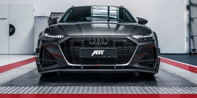 """This is the """"barn""""! 740-horsepower RS6 from ABT"""