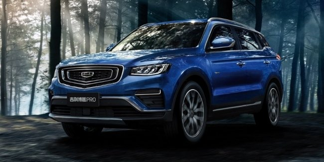 """""""Intelligent"""" all-wheel drive Geely. Whether to wait for this Volvo?"""