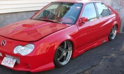 The victim of the fast and the Furious: ridiculous tuning Honda Civic