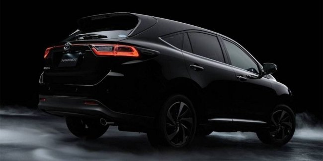 New Toyota Harrier: a bold design and 7 seats, but not for us…