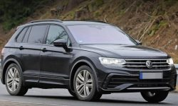 Gotcha! Updated Tiguan without camouflage