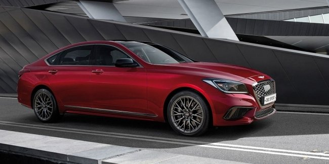 "Korean AMG: Genesis G80 will receive the ""charged"" modification"