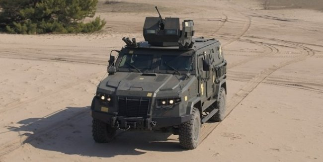 """Not killed Kozak"": a new armored car for the APU"