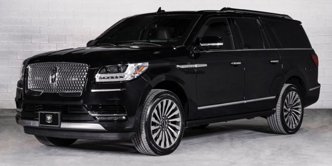 Lincoln for President: the Canadians introduced the armored Navigator