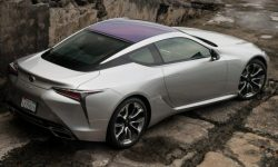 Updated Lexus LC: minus 10 kg and Android Auto