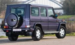 """Gaelic"" which is not a Mercedes: sold very rare G-Class"