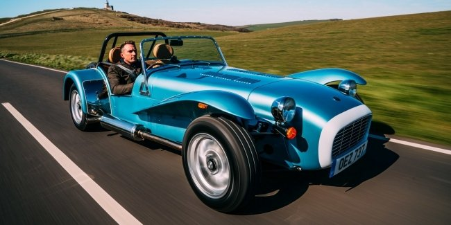 Sound from the past: new Caterham Super Seven 1600