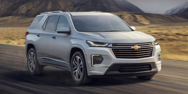 """Delay"" Chevrolet: Traverse updated will appear in a year"