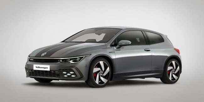 Sirocco – wind of hope VW? What could be a new Scirocco (photo)