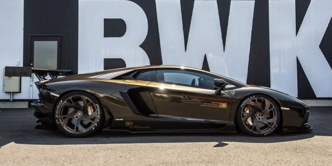 For everybody: for sale unique Aventador from Liberty Walk