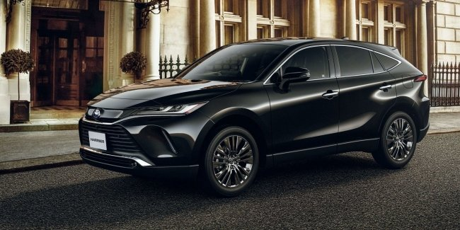 Large and luxury RAV4 new Toyota Harrier officially presented