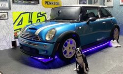 Why gamers car? racing simulator from MINI (video)