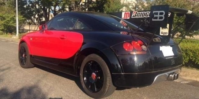 """Topic """"Pluck the eyes"""": a cruel and merciless tuning Audi TT"""