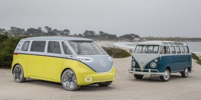 """""""Hipster"""" Buzz from Volkswagen Touran will replace"""