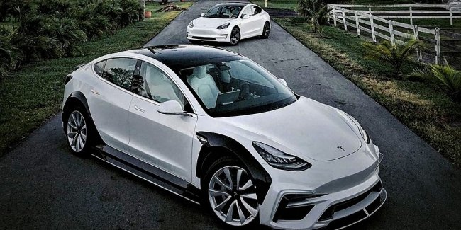 Tesla Carbon: tuning Model 3