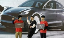 Just into space… the sale of Tesla soared by 450%
