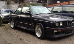 "BMW fans do not watch! Rare ""M-Ki"" among the garbage and scrap"