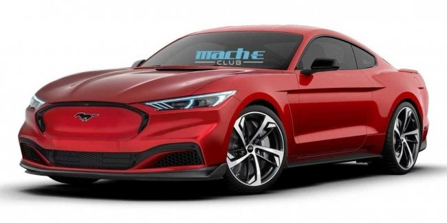 New Mustang: all-wheel drive and a hybrid