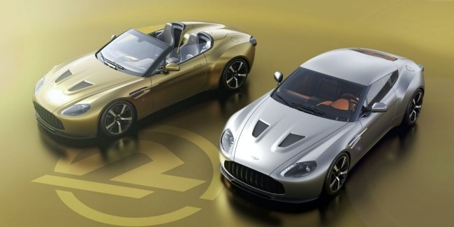 Inseparable twins: Aston Martin is preparing two new Vantage V12 Zagato