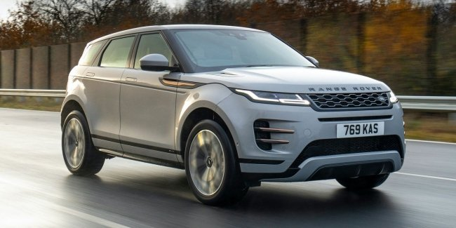 3 cylinder Land Rover: hybrid Evoque and Discovery Sport