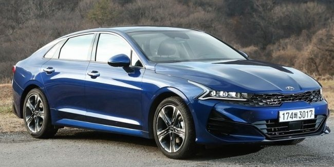 "Photospin revealed the interior, ""other"", new KIA Optima"