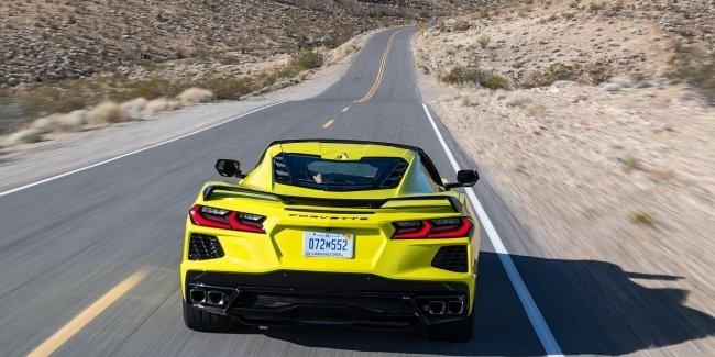 1000-strong hybrid, and not only… New modifications Corvette C8