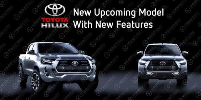 New Toyota Hilux, but it's not exactly…