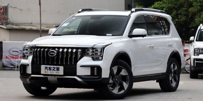 The GAC started to sell its new SUV GS8'S