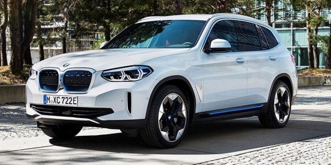 BMW iX3: driversi crossover on electric?