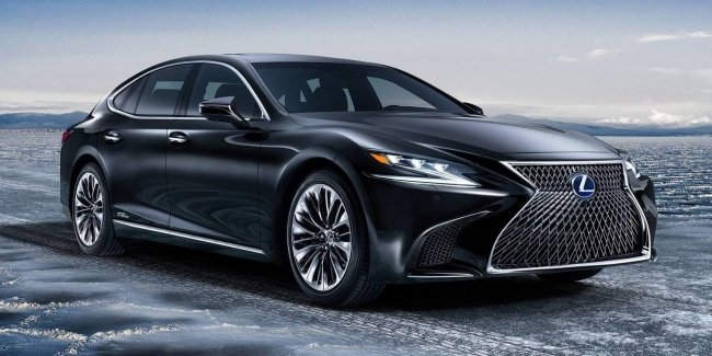 Restyled Lexus LS from four cylinder to V8
