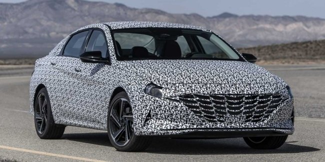 Hot: Hyundai preparing the Elantra updated in version N Line