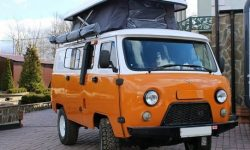"A nightmare of claustrophobic: motorhome on the basis of the UAZ ""Loaf"""