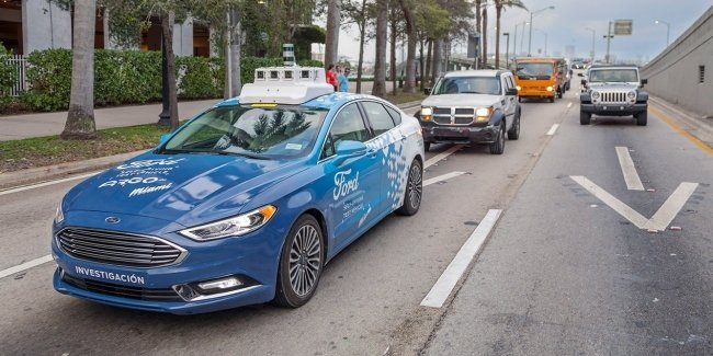 Losses and psychologists have forced Ford to freeze the development of Autonomous vehicles