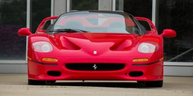 On sale the debut of the Ferrari F50