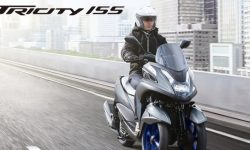 Yamaha Tricity three-wheeled floor upgrade