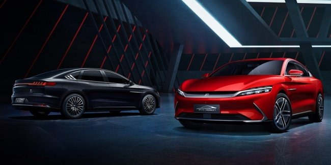 Han: the Chinese competitor to the Porsche and Mercedes Taycan EQS?