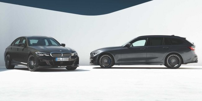 "Which is not Alpina Alpine: the famous tuning house has circulated new ""Three rubles"" BMW"