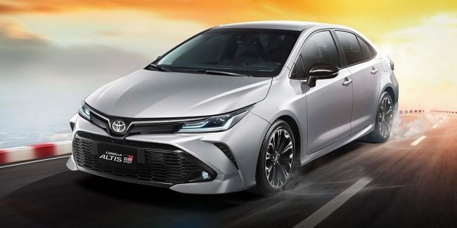 The Toyota Corolla sedan with a hint of sport