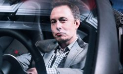 """""""Not a word, and deed"""": Elon Musk was awarded first prize in the Tesla for the condition"""