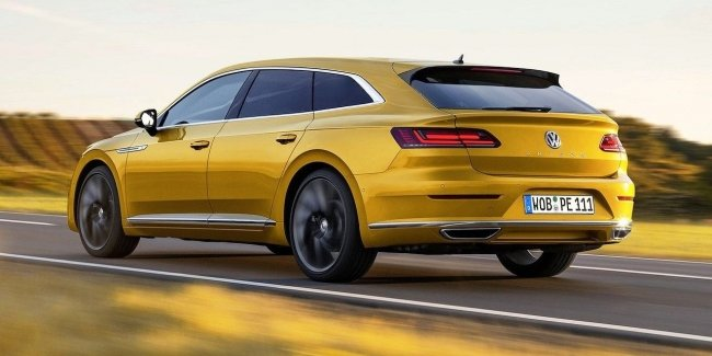 "Volkswagen Arteon: offroad wagon and ""evil"" liftback"