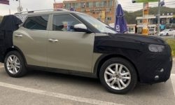 Photospin spotted a new model of SsangYong